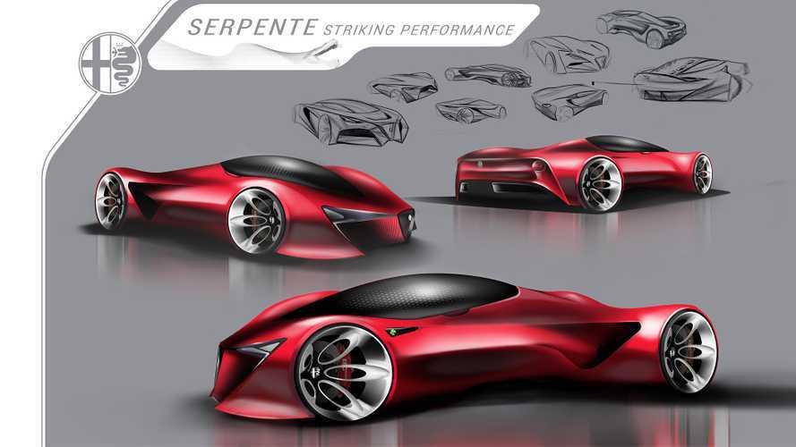 Un'hypercar dell'Alfa Romeo? Il progetto è degli studenti