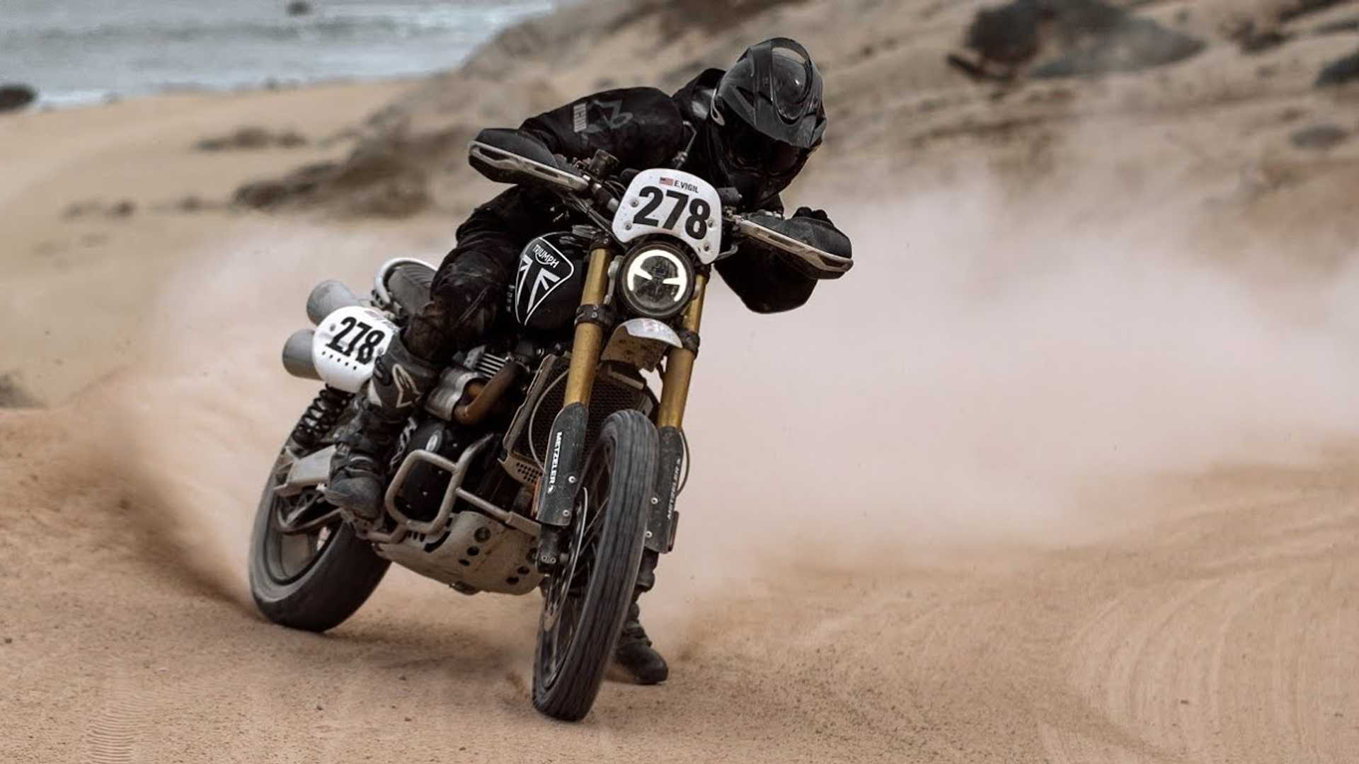 Fantastic Dirt Riding Video Proves Triumph's Scrambler Has What It Takes