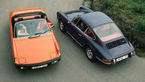VW-Porsche 914 1.7 and Porsche 911 E 2,4 (1972)