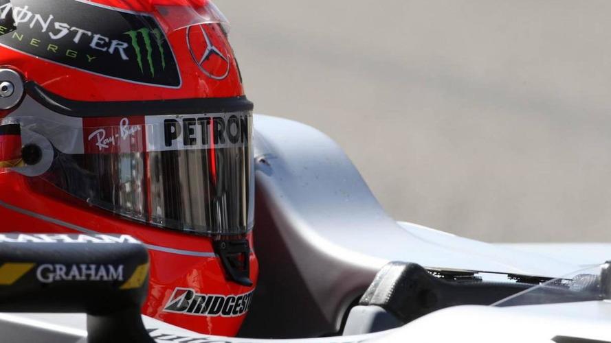 Mercedes plays down Schu's fist-waving at Rosberg