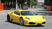 Ferrari F450 prototype spy photo