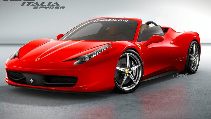 Ferrari 458 Spider to receive folding hard-top - rumors surface again