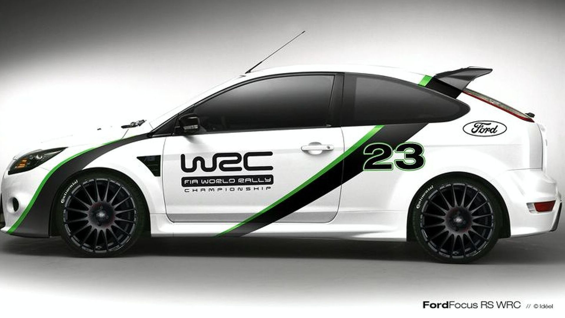Ford Focus Design >> Ford Focus Rs Wrc Edition