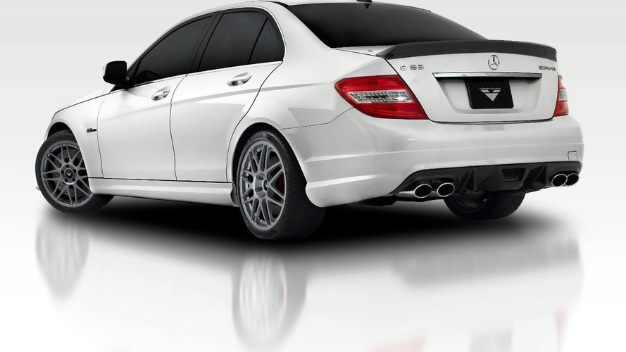 Vorsteiner Aero Package for Mercedes C63 AMG Revealed