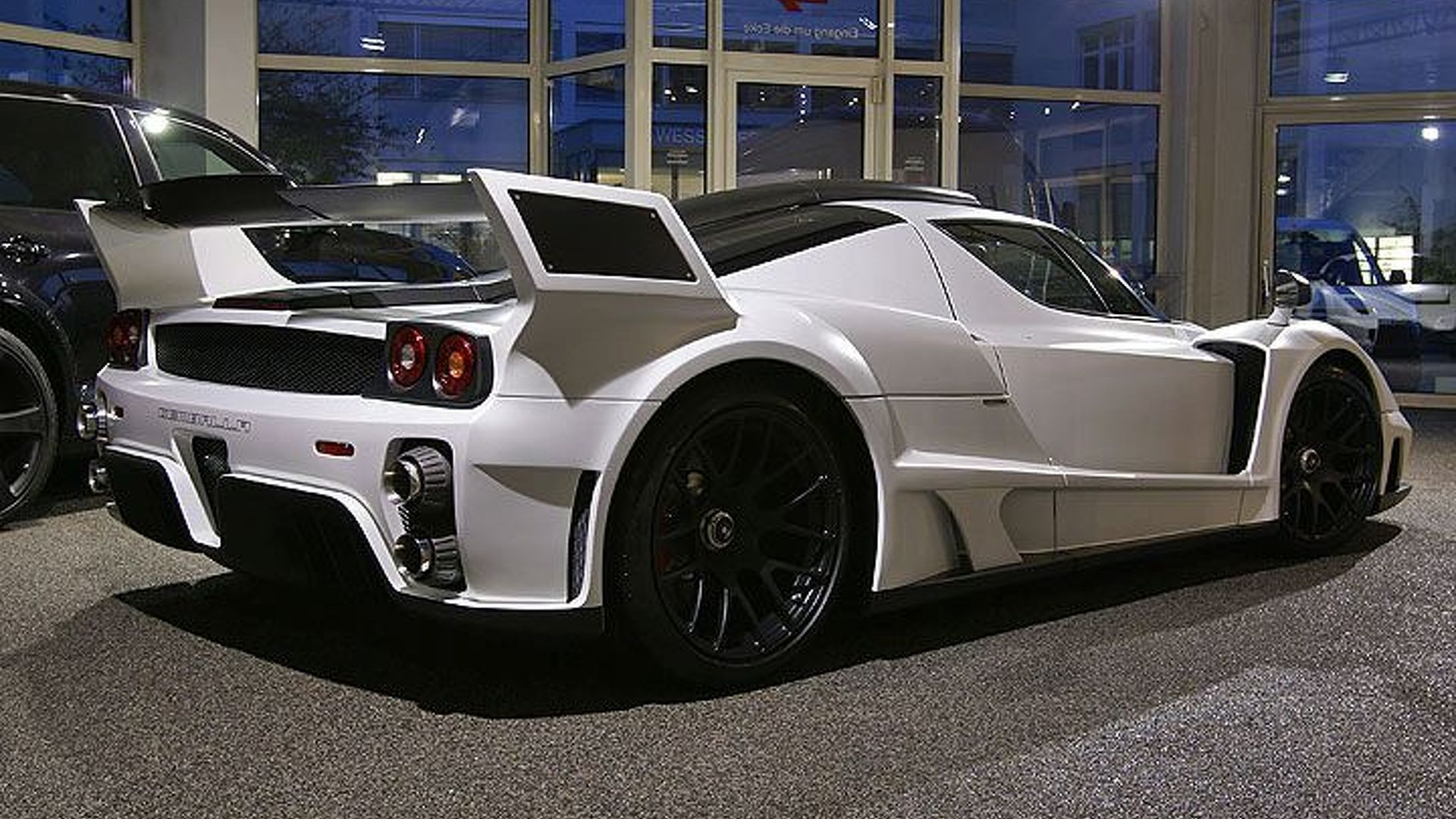Gemballa Mig U1 Based Ferrari Enzo Revealed