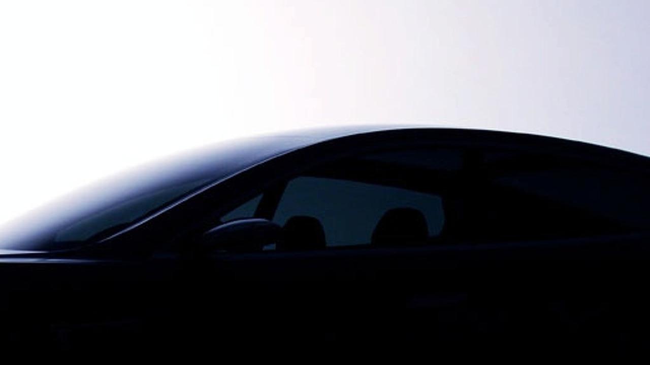 Tesla Model S Teaser Shot