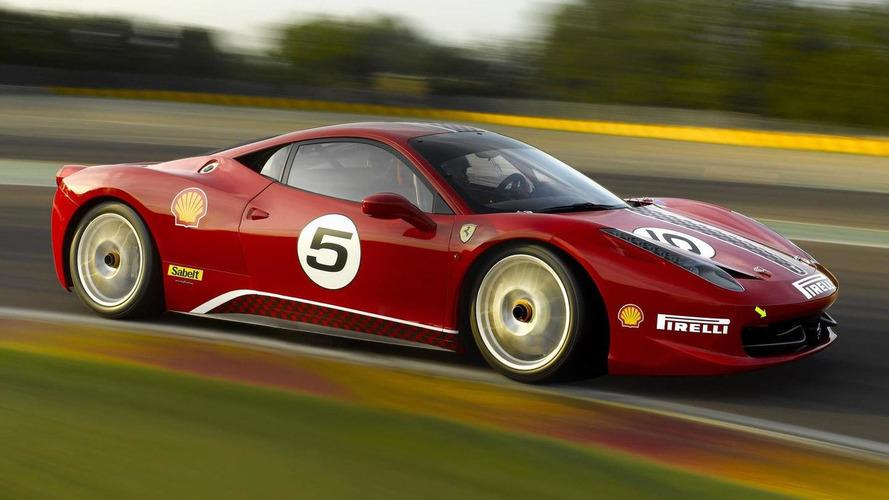 Ferrari 458 Challenge hits Vallelunga track - first real pics