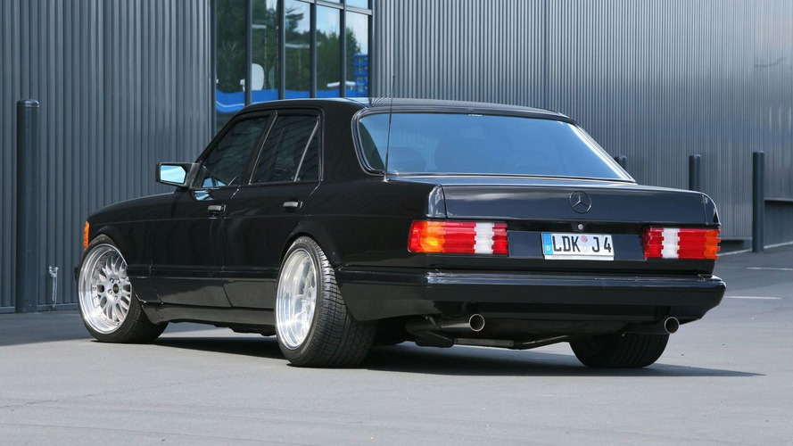 Inden Design Goes Old School with 1983 S-Class W126