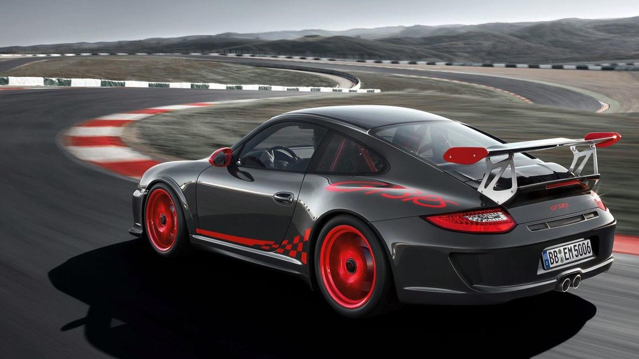 2010 Porsche 911 GT3 RS facelift wallpapers - 1600
