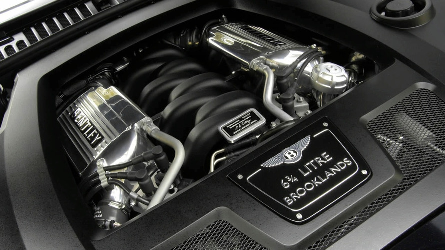 Bentley's V8 engine turns 50