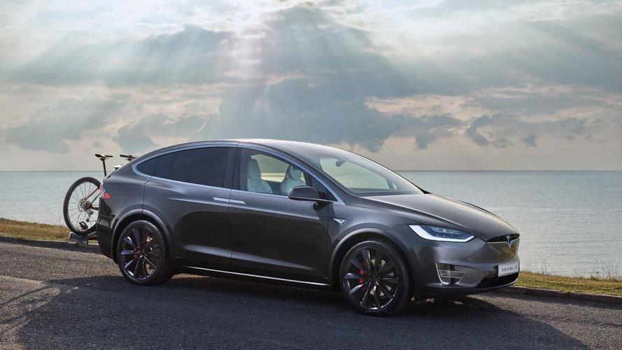 Tesla Model X ilk sürüş