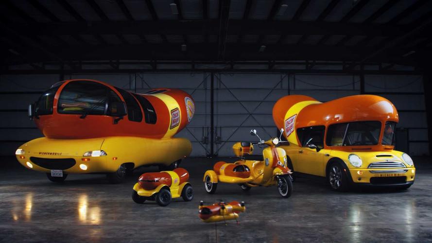 Oscar Mayer crea una gama de vehículos tan completa como delirante