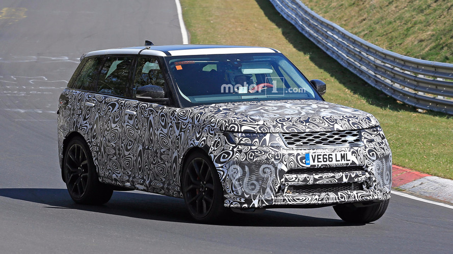 Range Rover Sport SVR Spied At the Nürburgring