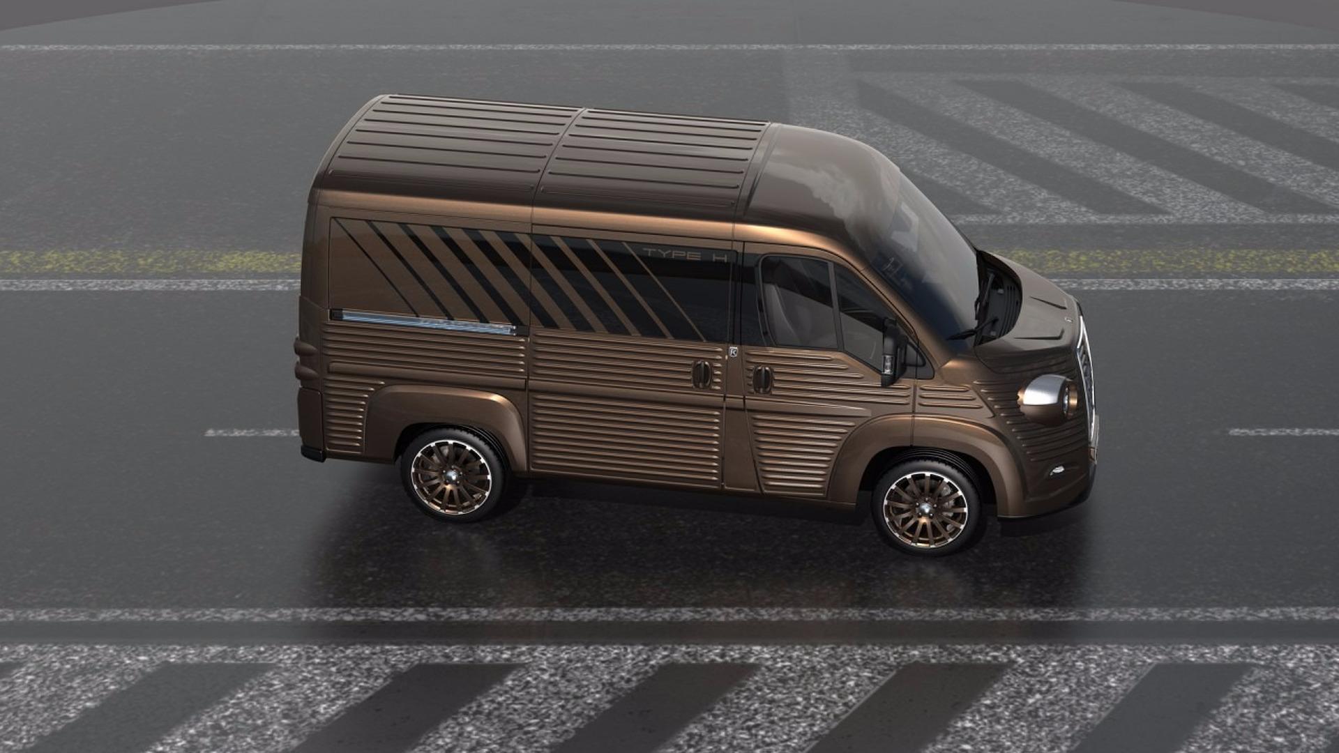 c218b841a7 Body Kit Transforms New Citroën Jumper Into A Classic Type H Van