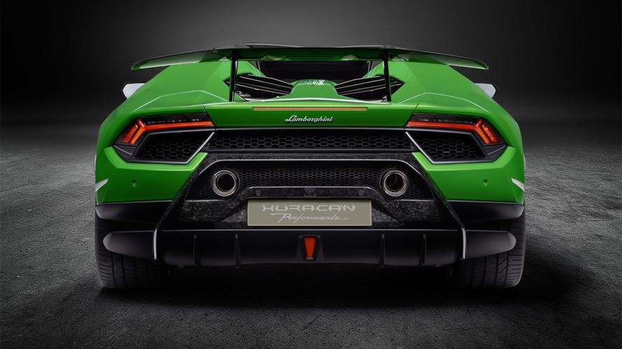 Lamborghini Huracan Performante Spyder Render
