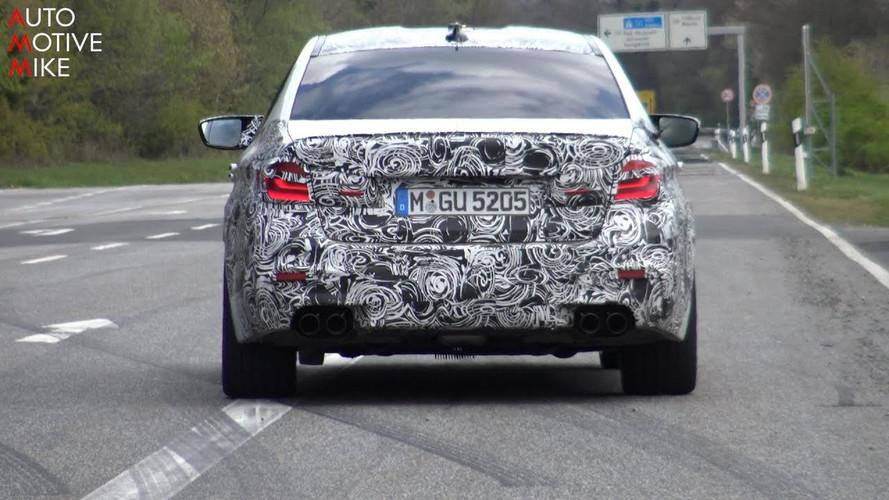 2018 BMW M5 Stalked For 7 Minutes On And Around The Nurburgring