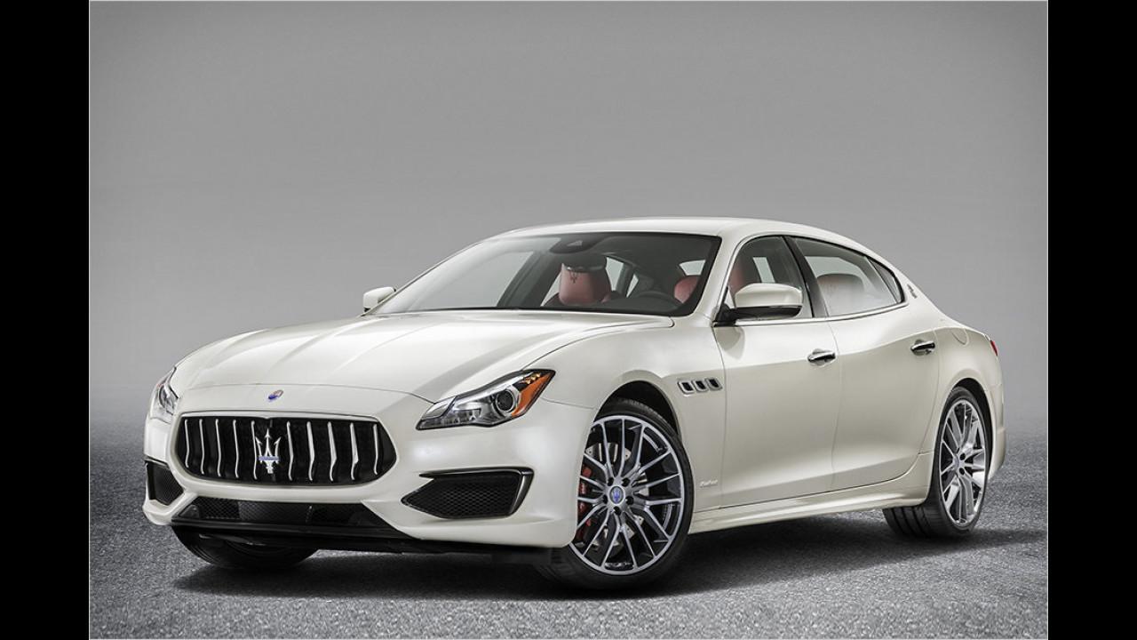 Platz 10: Der Maserati Quattroporte S mit 410 PS