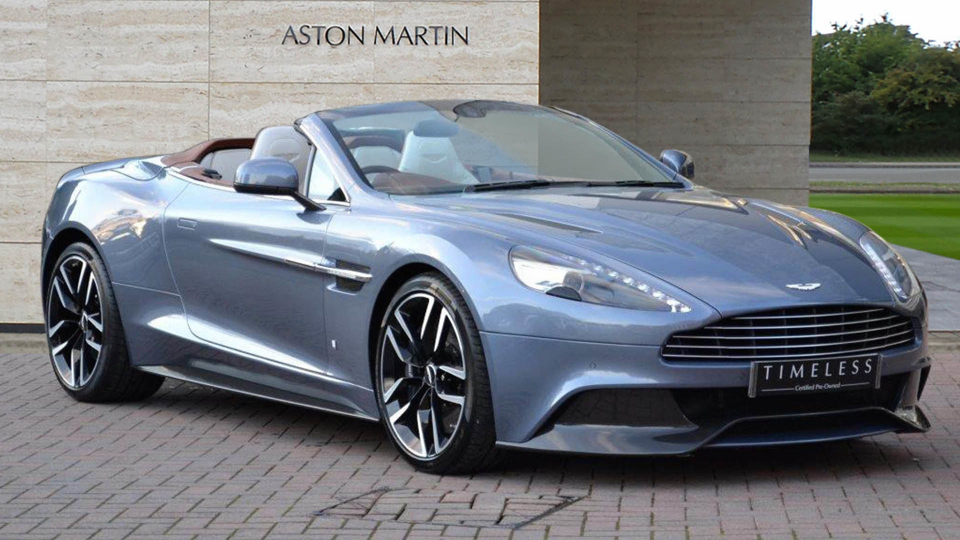 OneOff Aston Martin Vanquish Volante Could Be Yours For K - Aston martin vanquish price usa