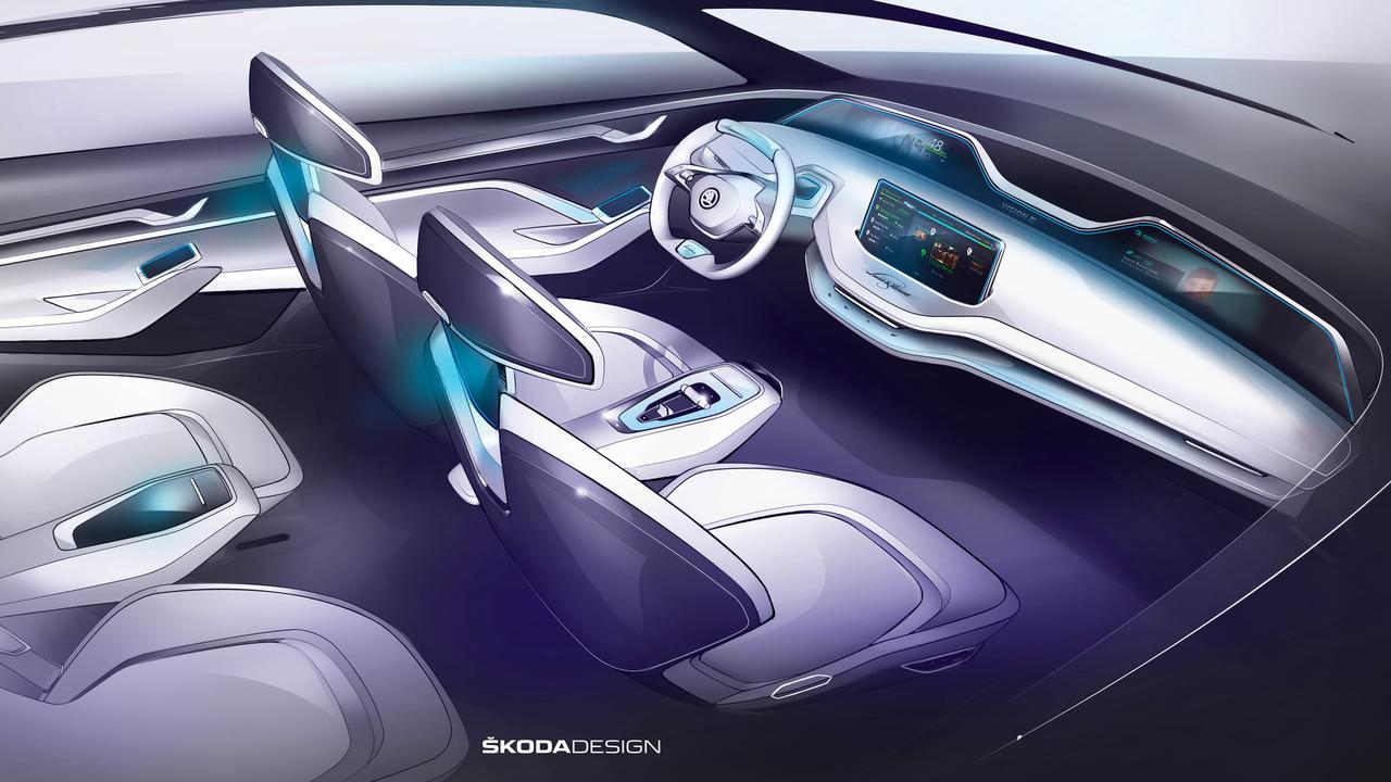Intérieur Skoda Vision E