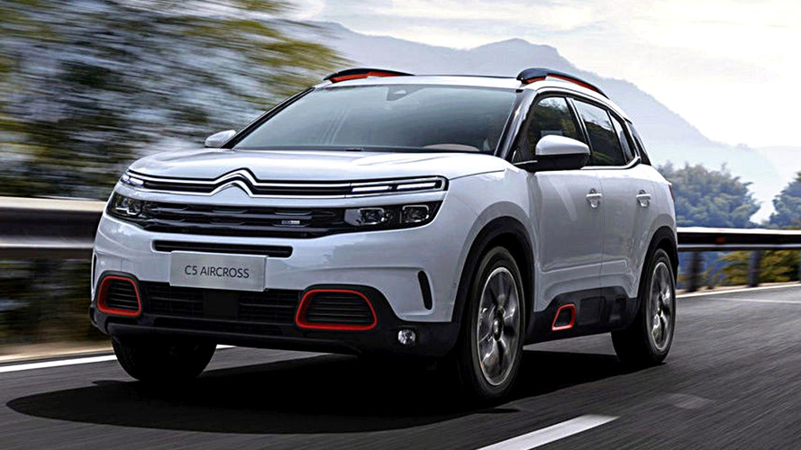 Citroën C5 Aircross Leaked Ahead Next Week Debut