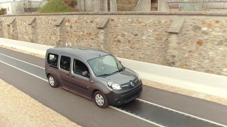 Renault teste la recharge électrique sans contact