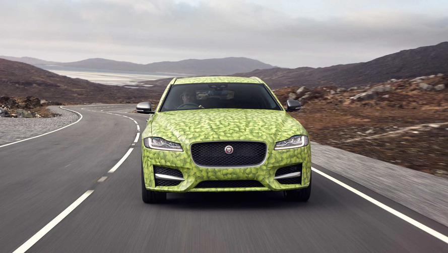 Jaguar Gave Its XF Sportbrake A Ballsy New Look