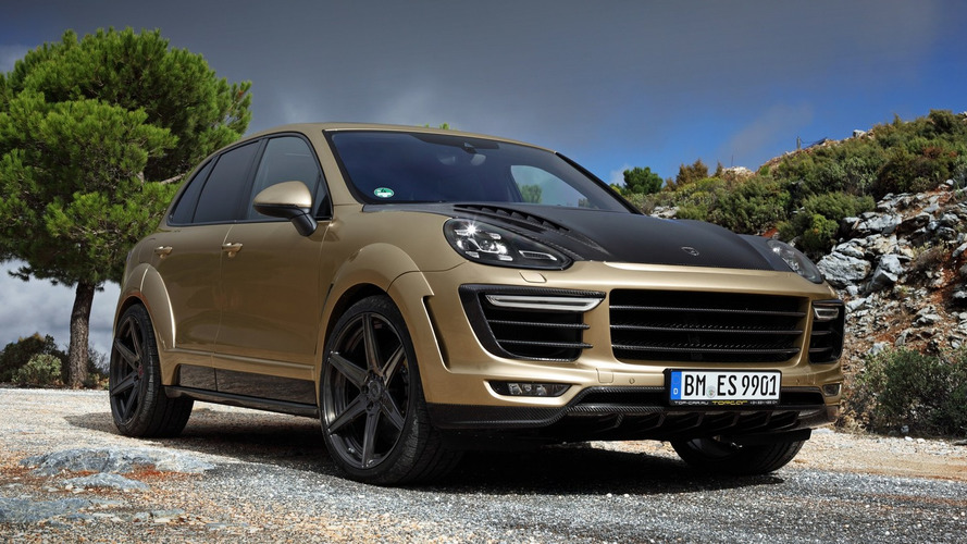 TOPCAR unveils their Vantage GOLD Porsche Cayenne Turbo, costs €180,000