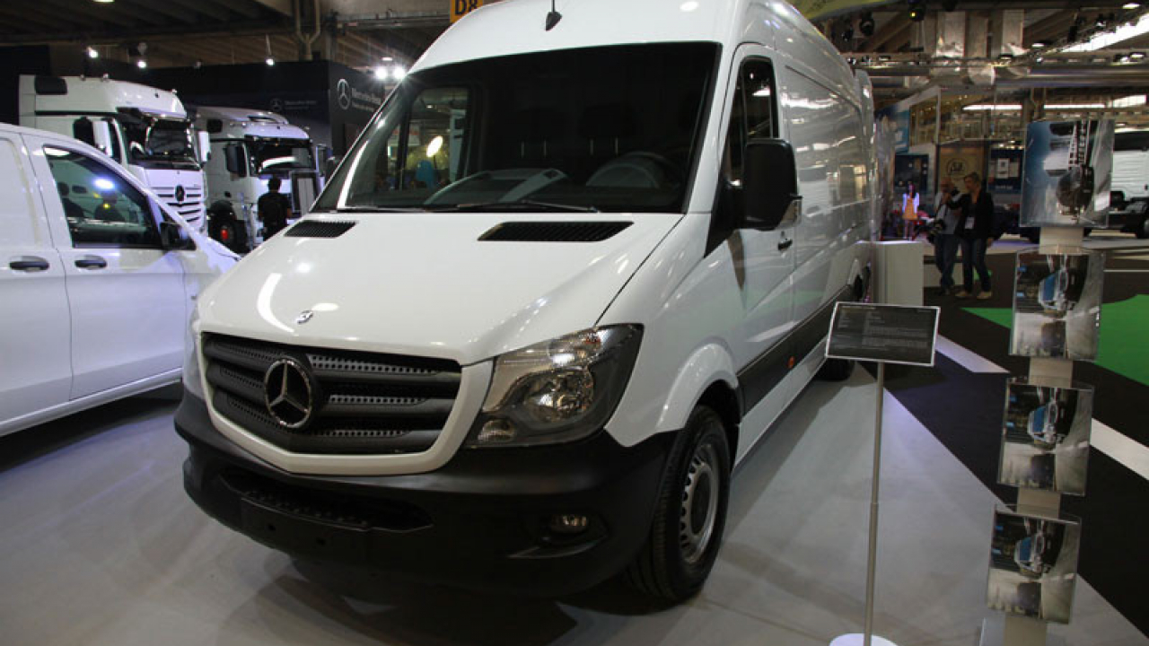 Transpotec 2015, Mercedes-Benz Sprinter
