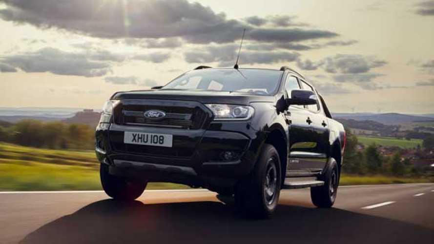 Ford Ranger Black Edition, l'edizione speciale per Francoforte