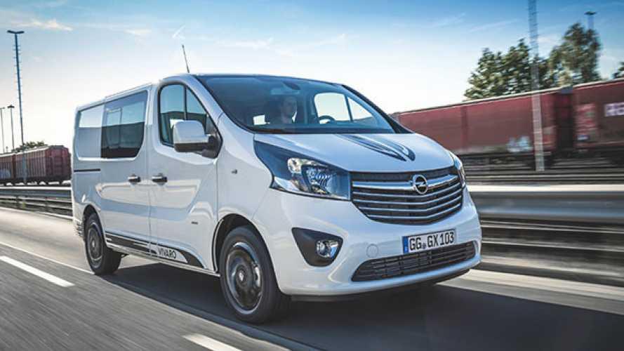 Opel Vivaro Sport, ora si può comprare