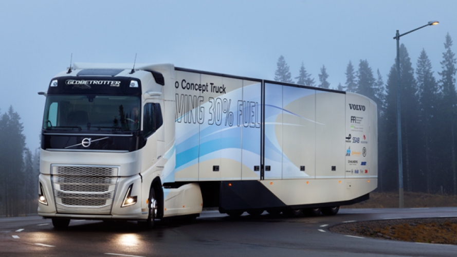 Volvo Trucks Concept Hybrid Truck [VIDEO]