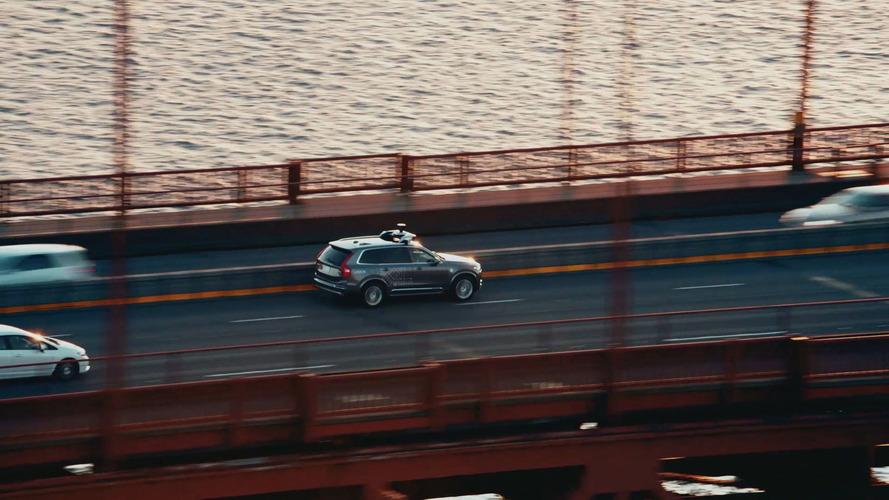 Volvo XC90 - Testes Uber