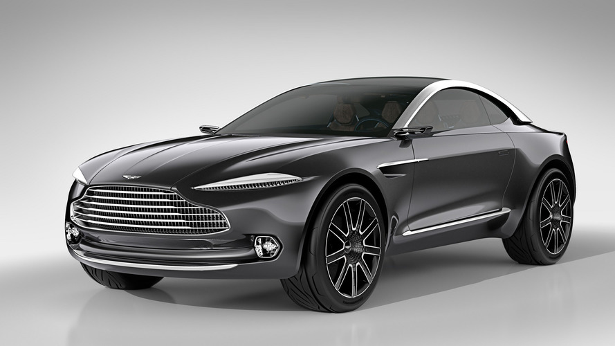 Aston Martin DBX SUV Could Get Six-Cylinder AMG Engine