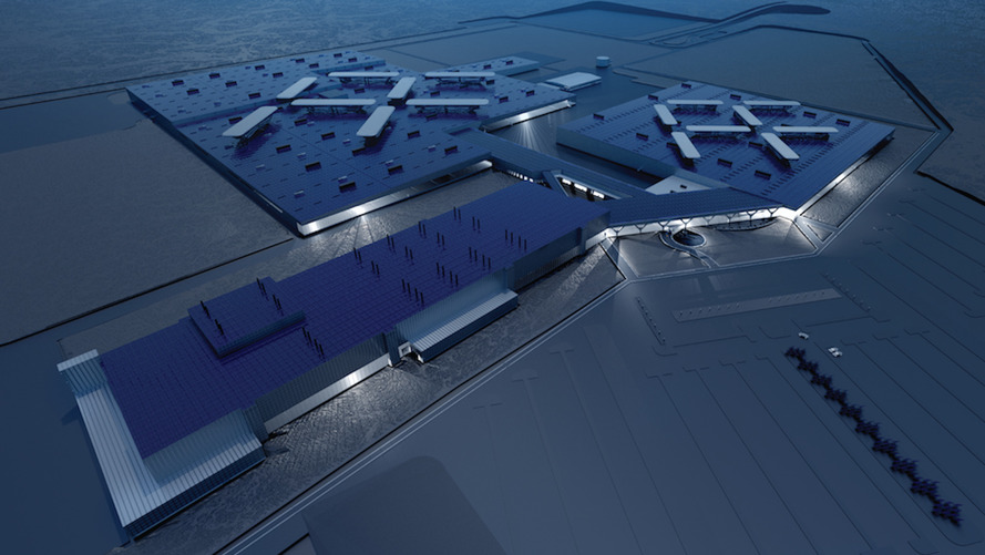Faraday Future's billion-dollar factory construction comes to a halt