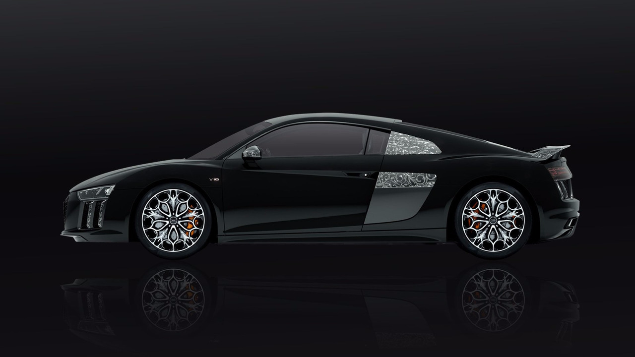 One Off Final Fantasy Themed Audi R8 Costs 470k