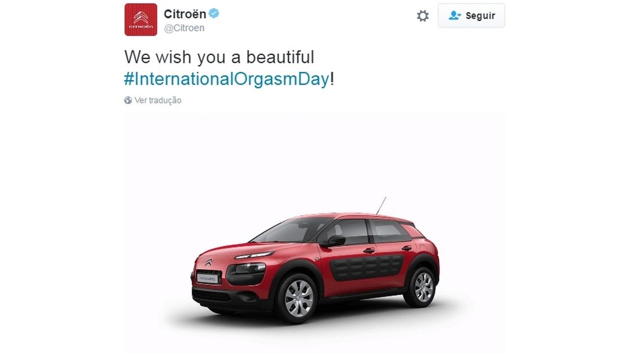 Citroën dia do orgasmo