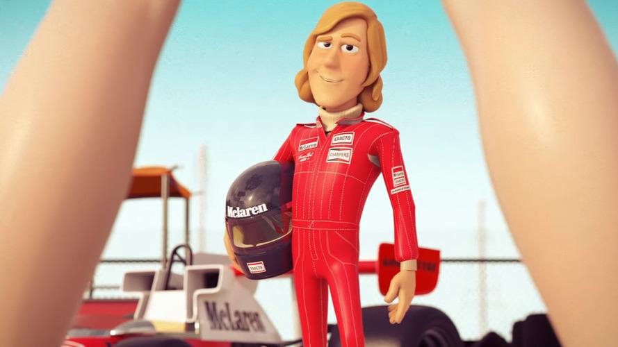 VIDÉO - McLaren met Button, Hunt et Alonso dans une aventure d'espion