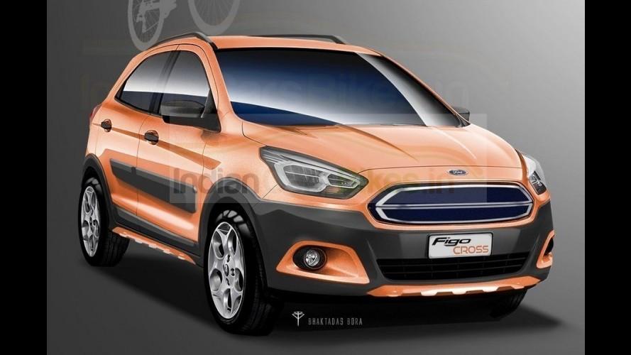 """Ford Ka """"Cross"""": compacto pode ganhar versão aventureira na Índia"""