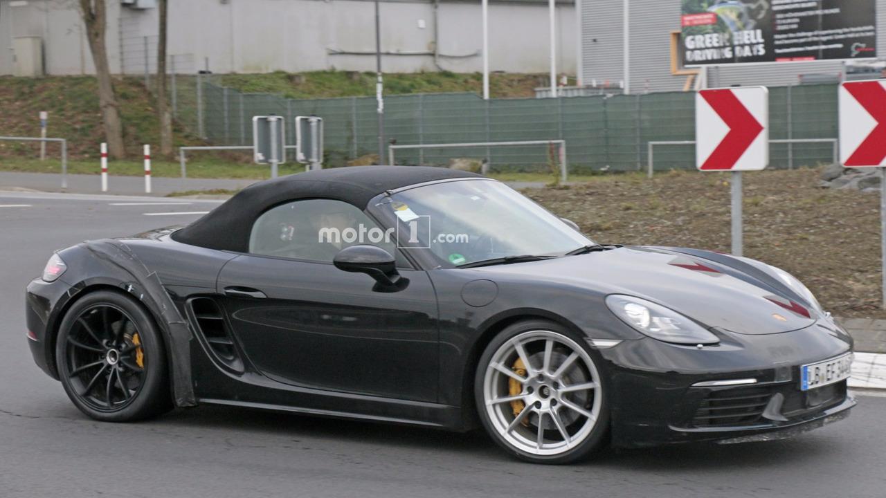 2018 Porsche 718 Boxster GTS casus fotoğrafları