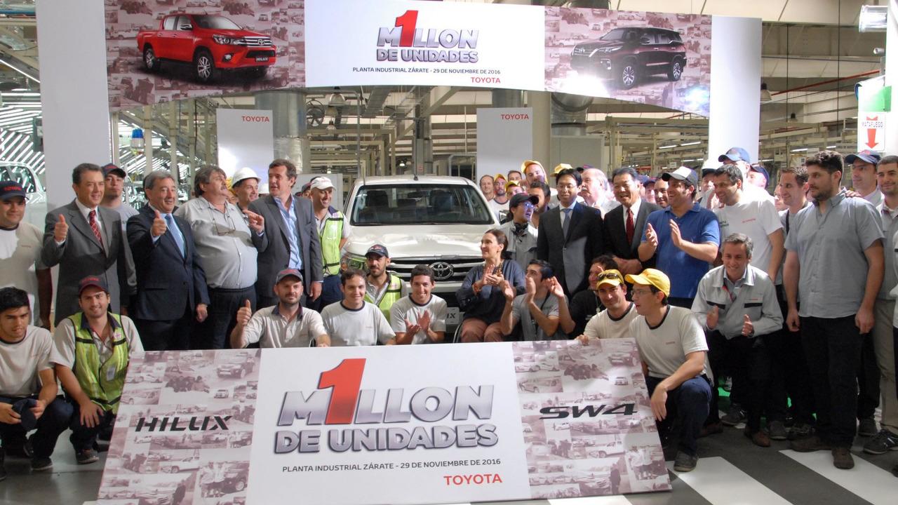 Toyota - 1 milhão de unidades