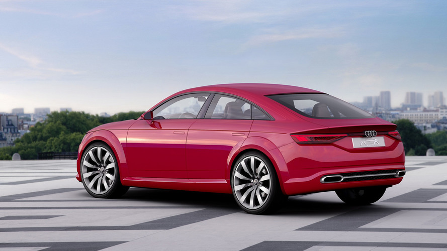 Audi TT Sportback concept 2014