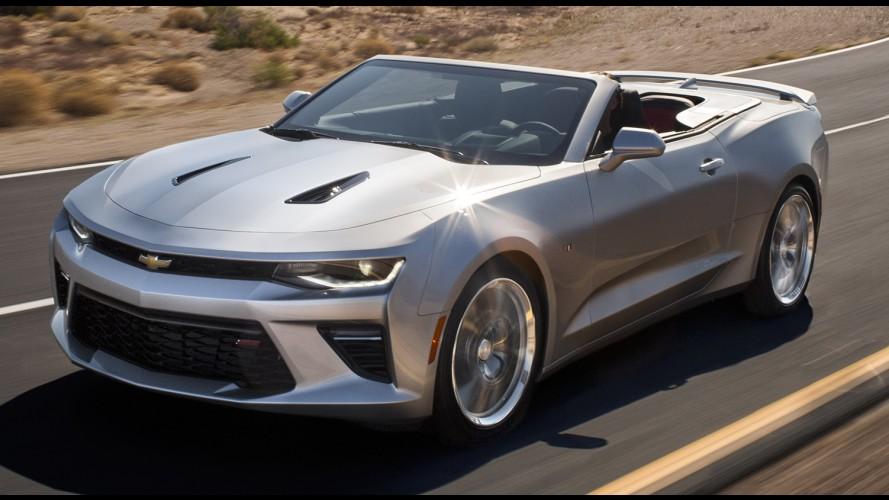 Oficial: Chevrolet apresenta nova geração do Camaro conversível