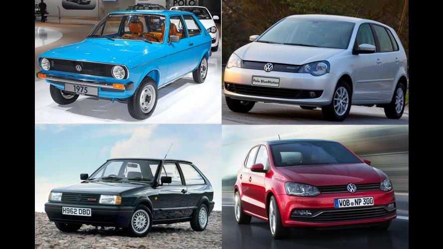 """Galeria de fotos: """"caro para o Brasil"""", VW Polo completa 40 anos de história"""