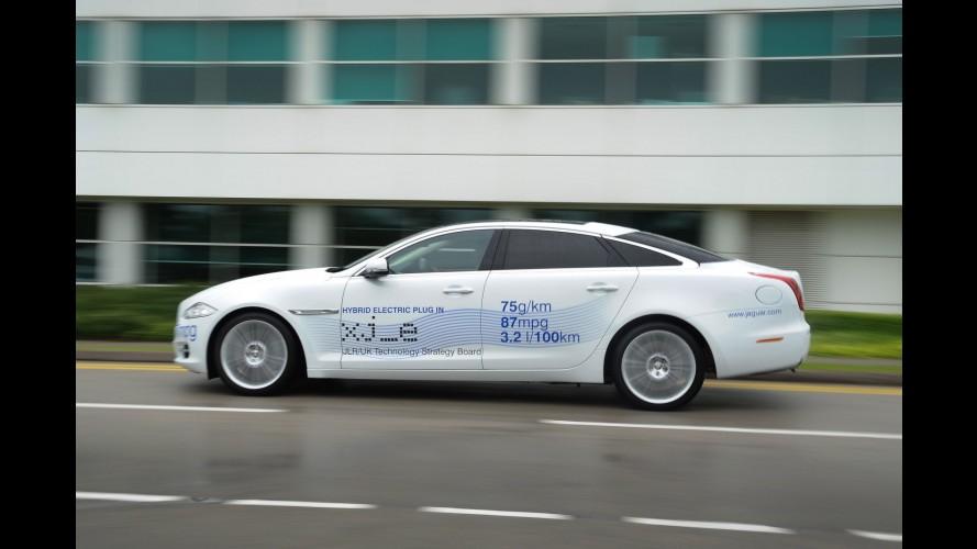 Híbrido de luxo: Jaguar XJ_e Hybrid promete consumo médio de 31,2 km/l
