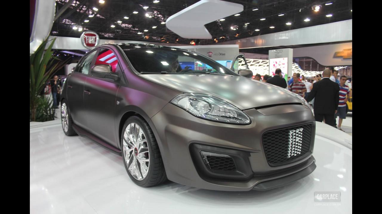 Salão do Automóvel: Fiat apresenta conceito Bravo Extreme Concept com motor de 253 cv