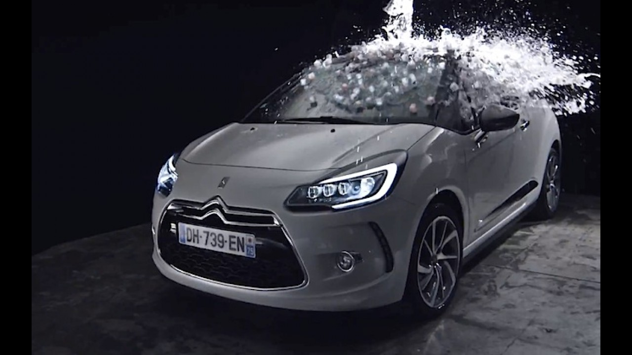 Vídeo: Citroën DS3 aceita Desafio do Gelo e convoca rivais Classe A e Mini