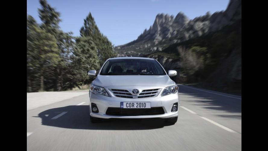 """""""Novo"""" Corolla 2012 será lançado dia 22 de março no Brasil"""