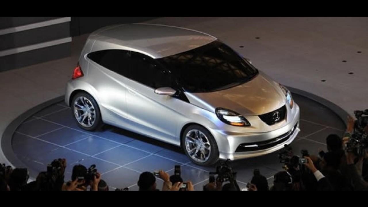 Novo compacto da Honda baseado no conceito New Small chega ao Brasil em 2013