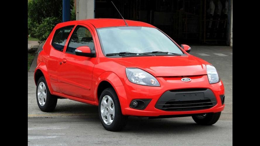 Ford Ka ganha novas opções de cores e inédita tecnologia de pintura na linha 2013