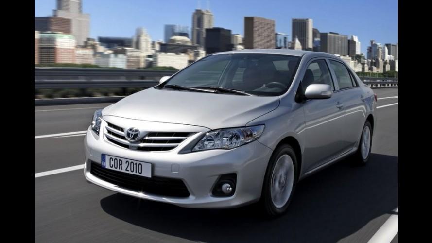 Vendas globais: Brasil mantém a quarta posição e Toyota lidera entre as marcas